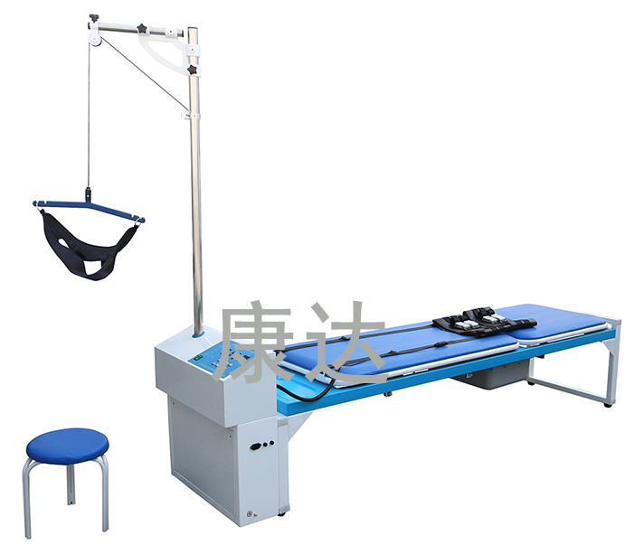 Computerized Lumbar Vertebra Traction Apparatus